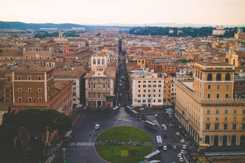 Schody Hiszpańskie rzym zwiedzanie co zwiedzic weekend w rzymie