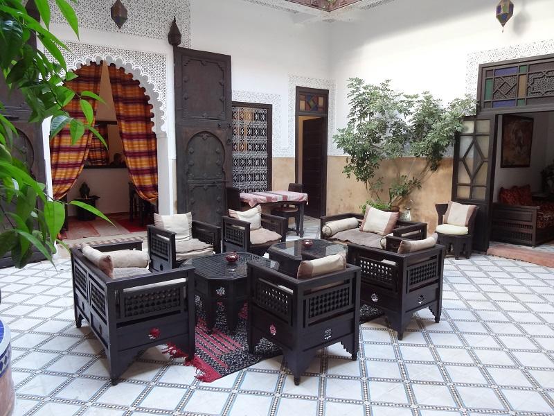 Riad Jenai Marakesz Maroko