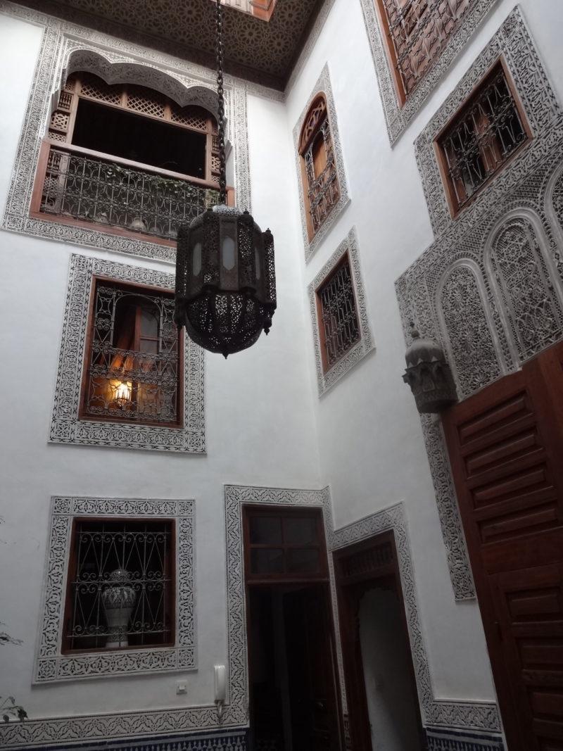 Riad Dar El Menia Fez Maroko