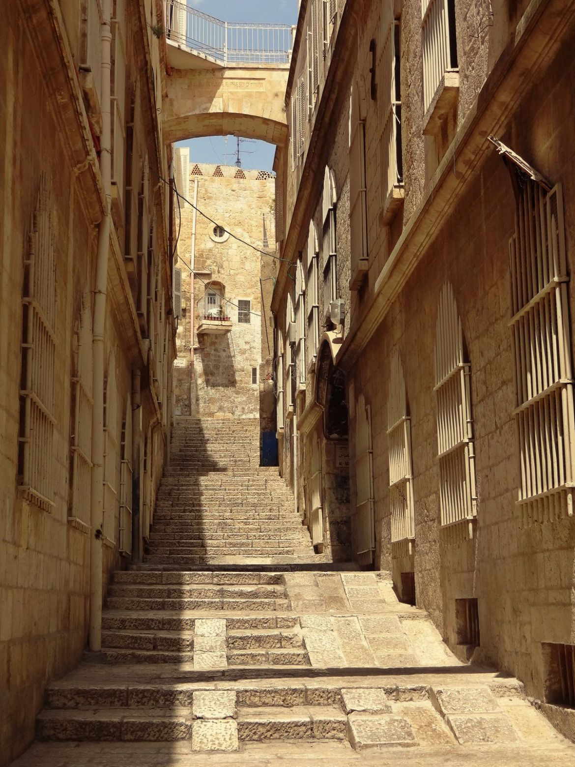 Jerozolima Via Dolorosa Izrael