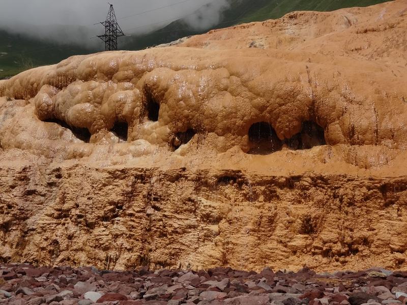 Nacieki mineralne Gruzja