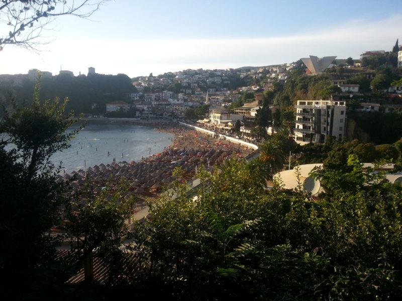 Ulcinj Czarnogóra Mała Plaża