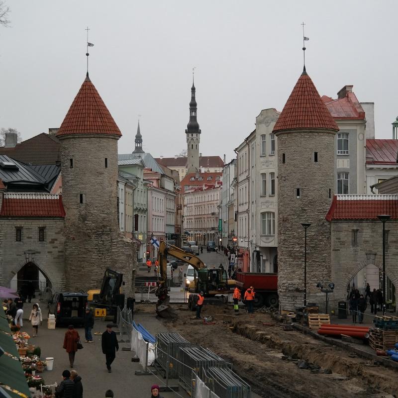 Brama Viru w Tallinie