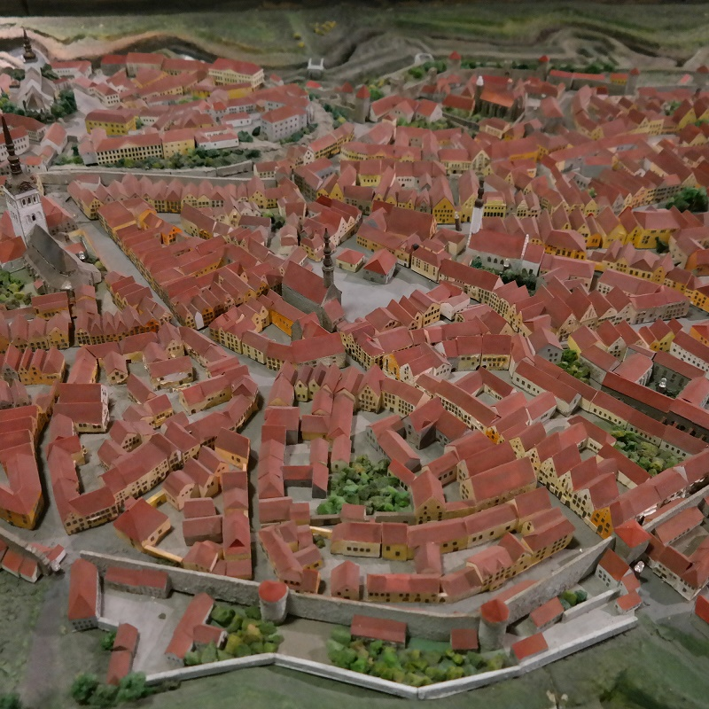 Makieta miasta Tallinna Linnamuuseum Tallin