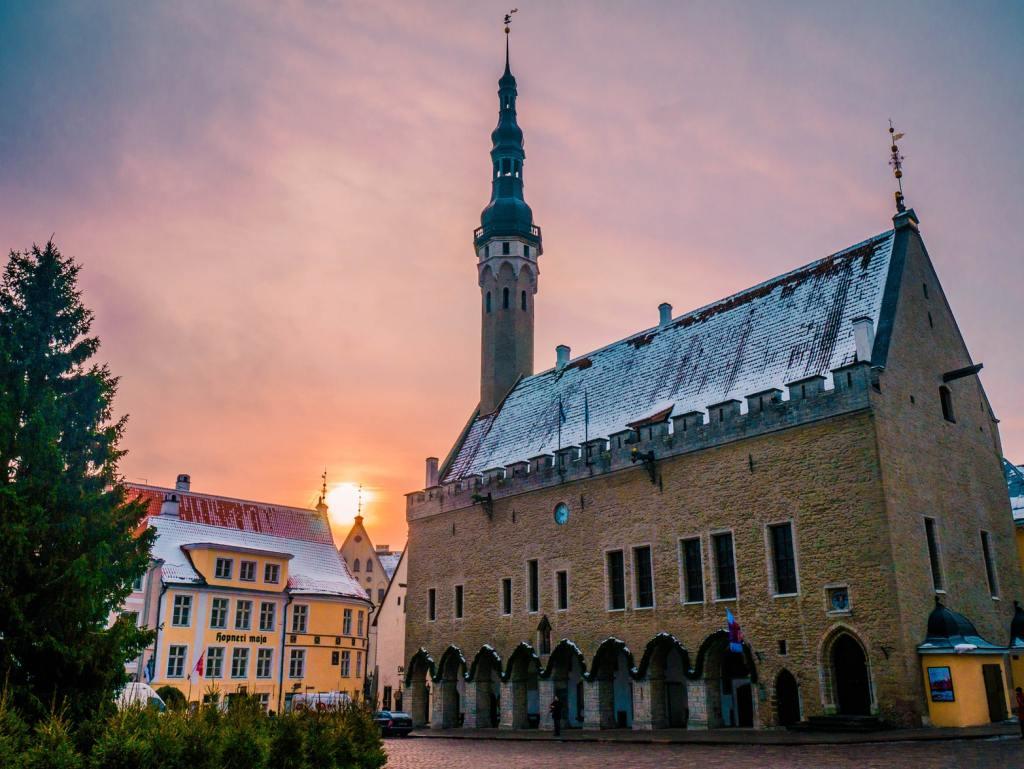 tallin stare miasto estonia co zobaczyc w tallinie w weekend