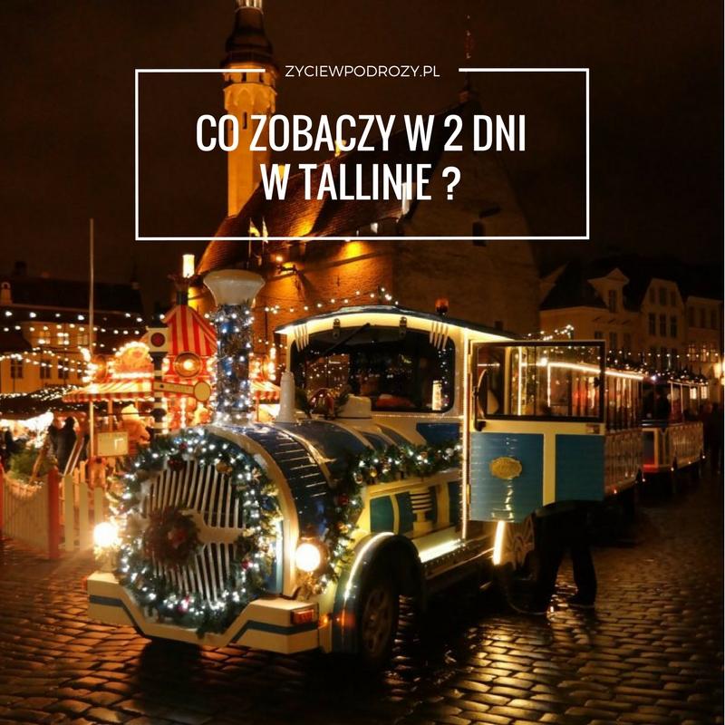 Tallin Targ Bożonarodzeniowy Rynek