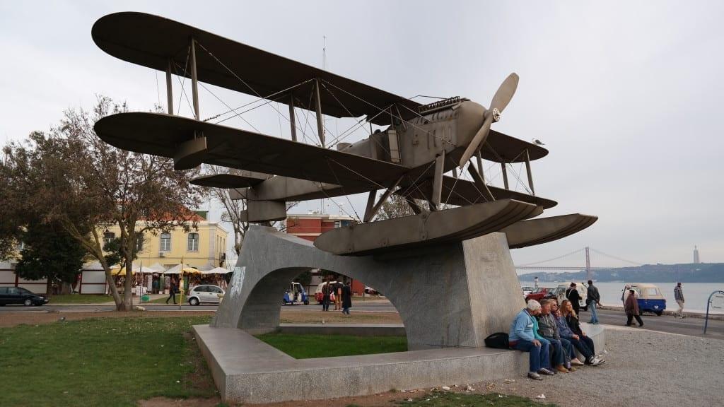 Lizbona Pomnik lotników