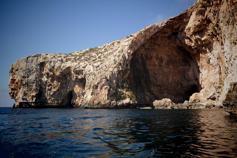 Malta Blue Caves