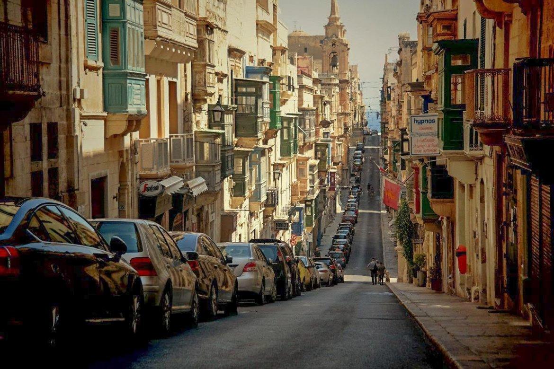 Valetta-Malta- ulice  Co zwiedzić i zobaczyc na malcie zwiedzanie malty blog