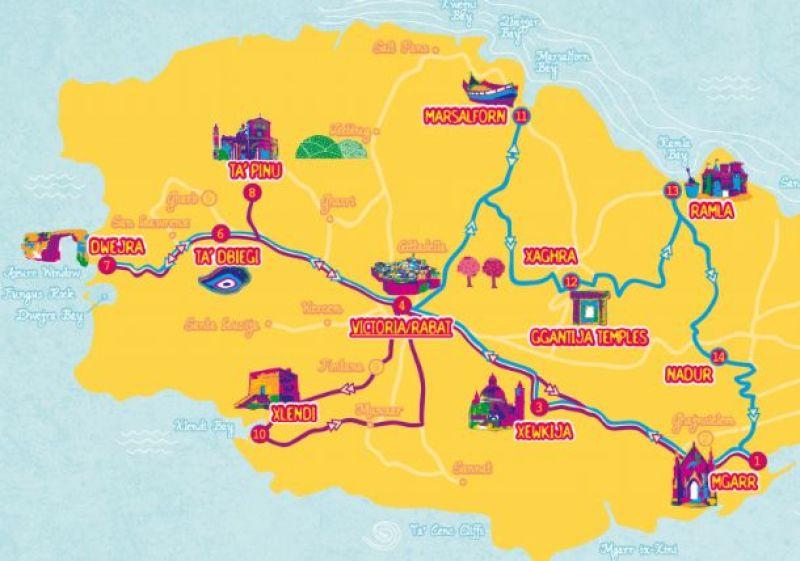 Gozo Map