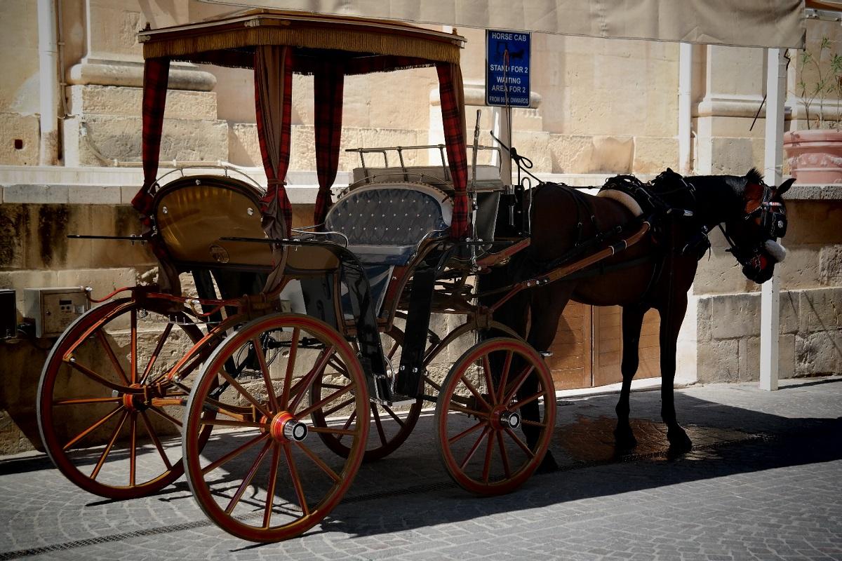 Oryginalny środek transportu w Valettcie