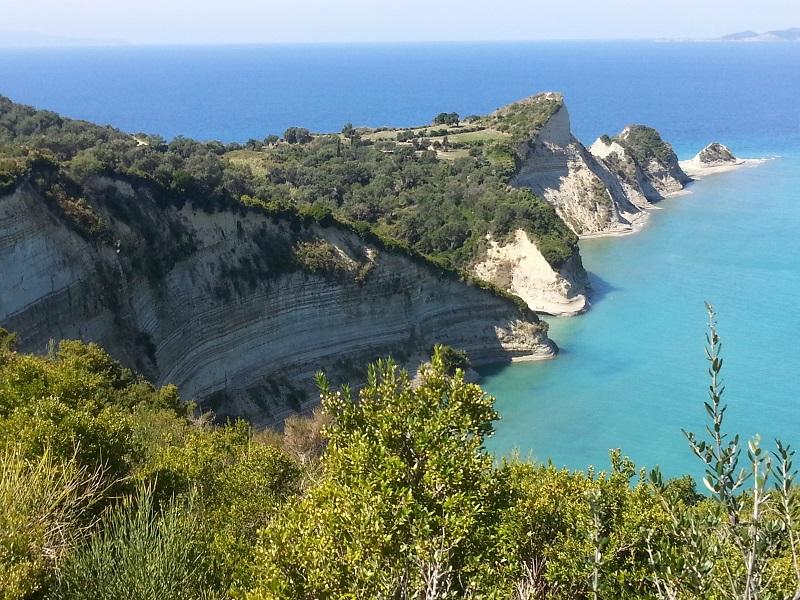 Cape Drastis, Korfu
