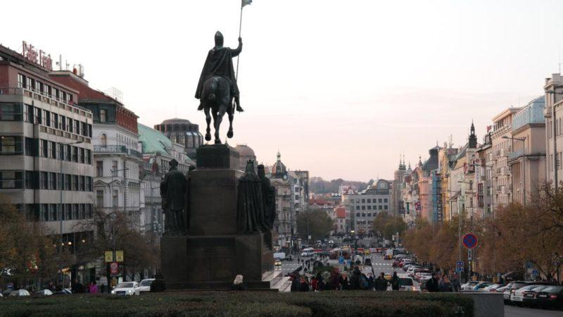 praga pomnik św. Wacława