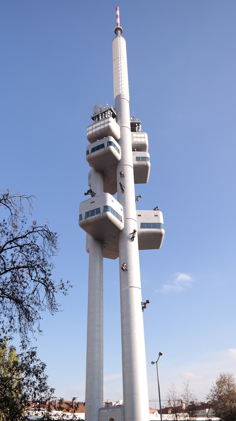 Zizkow Praga wieża tv
