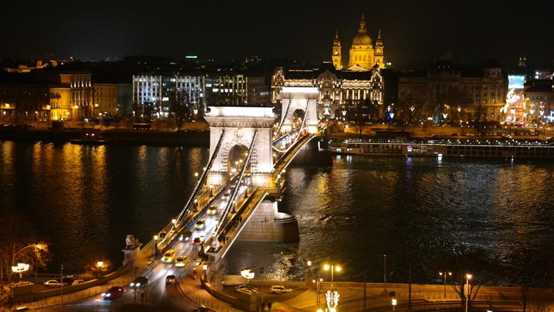 Widok z Zamku w Budzie, Budapeszt