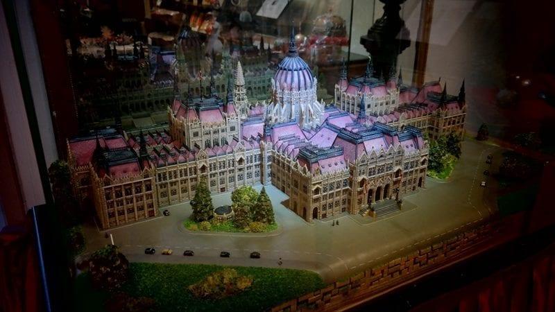 Muzeum Czekolady, marcepan, budapeszt Szamos
