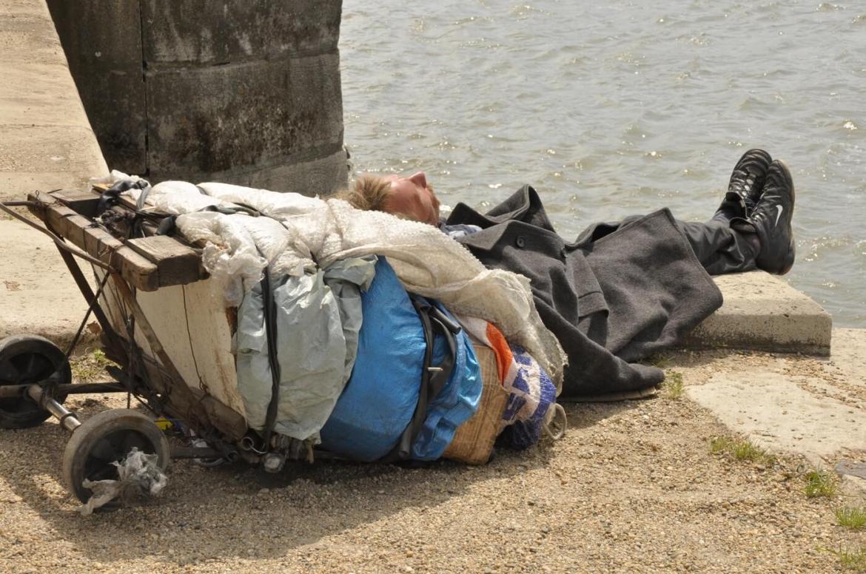Bezdomność Budapeszt