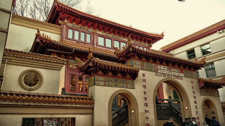 He Hua Tempel w Chińskiej dzielnicy