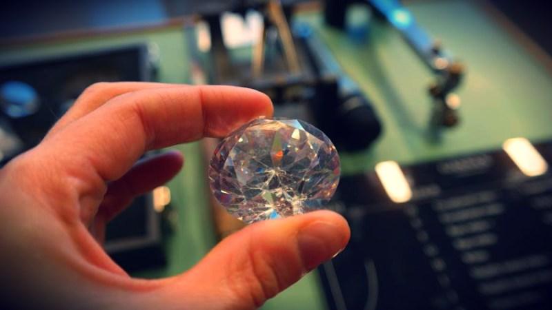Amsterdam szlifiernia diamentów
