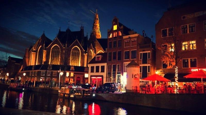 Amsterdam The Oude Church