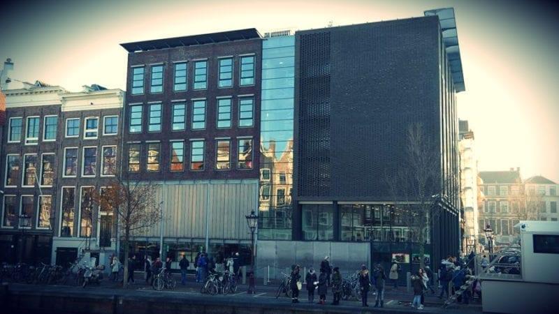 Amsterdam Dom Anna Frank