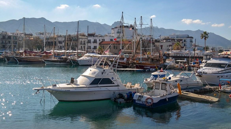 Zwiedzanie cypru Kirynia port cypr północny co zwiedzic i zobaczyc na cyprze turecki blog