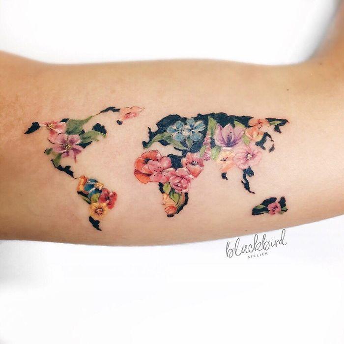 Tatuaże Inspirowane Podróżami Blog życie W Podróży