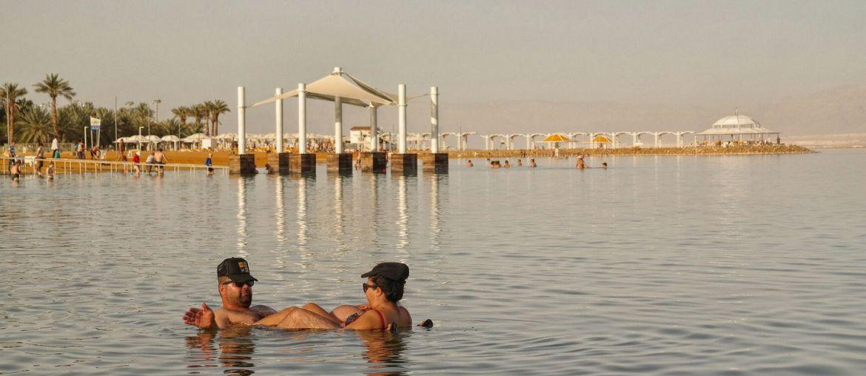 Ein Bokek Morze Martwe Izrael
