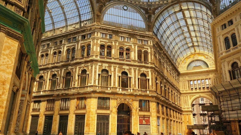 Neapol Galeria Umberto I