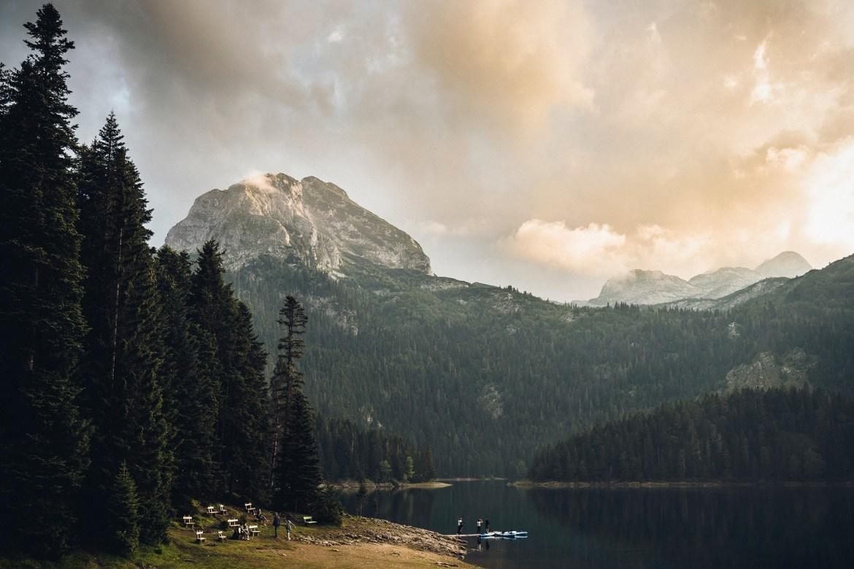 Czarne Jezioro Durmitor Czarnogóra