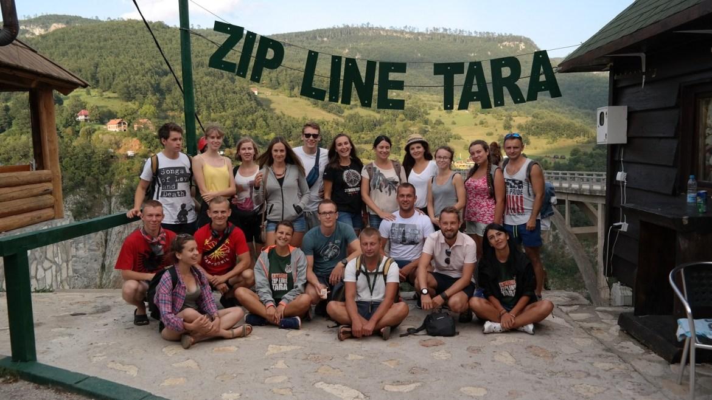 Tyrolka tara Durmitor Grupa Czarnogóra