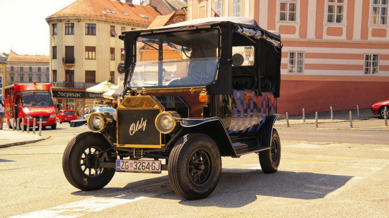 Zagrzeb Chorwacja stare samochody co zwiedzić w chorwacji