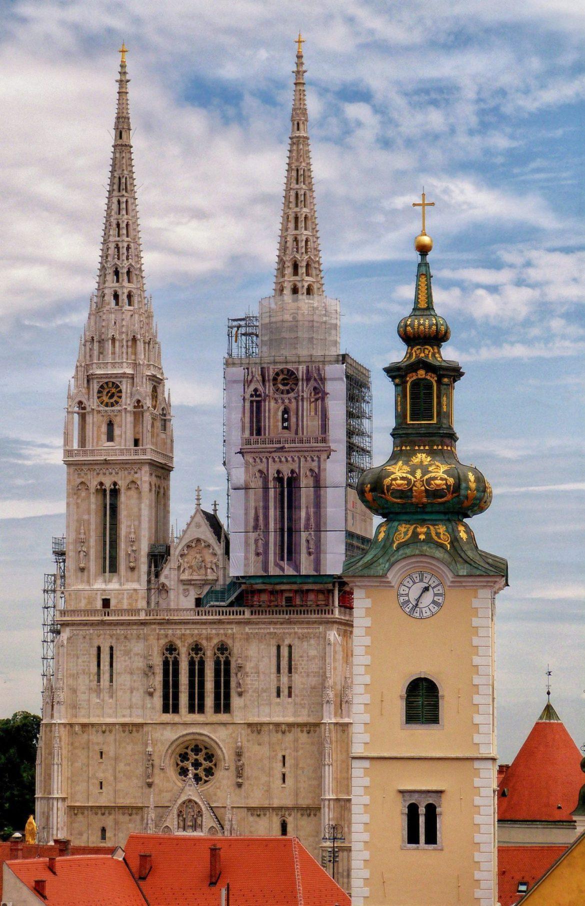 Zagrzeb katedra Chorwacja co zwiedzić w chorwacji