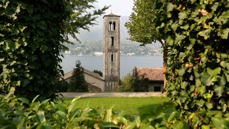 Chiesa Santa Maria di Loppia Bellagio Włochy lecco varenna bellagio
