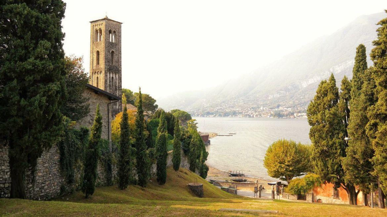Chiesa Santa Maria di Loppia Bellagio Wlochy