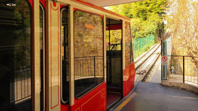 Funicolare Bergamo Kolejka szynowa