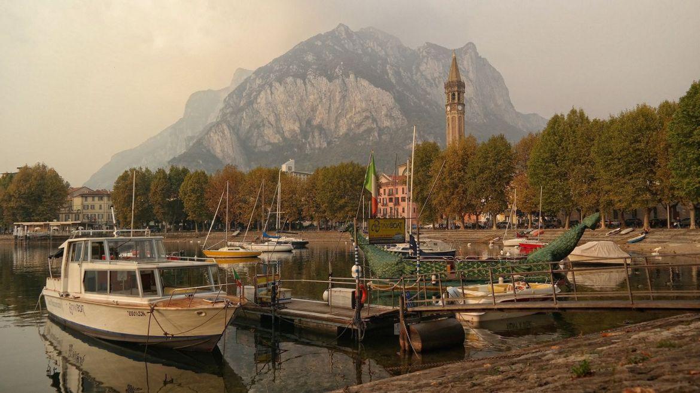 Lecco-Włochy-Lombardia