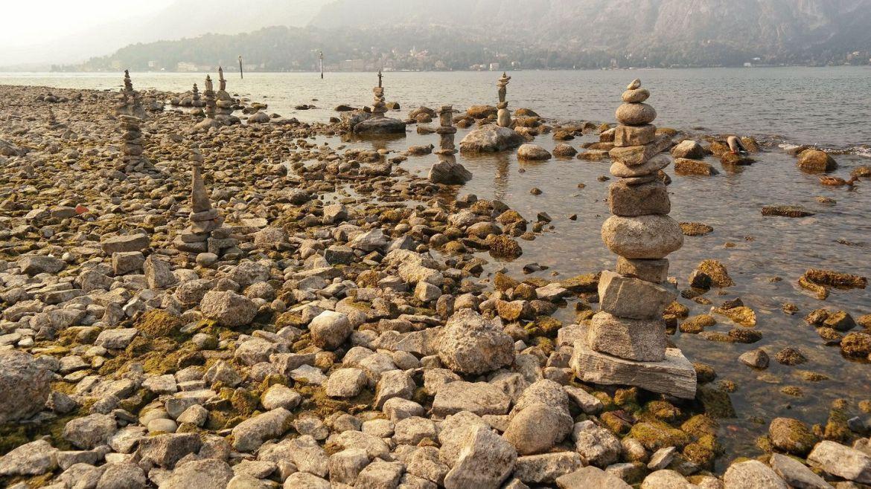 Plaża bellagio Wlochy