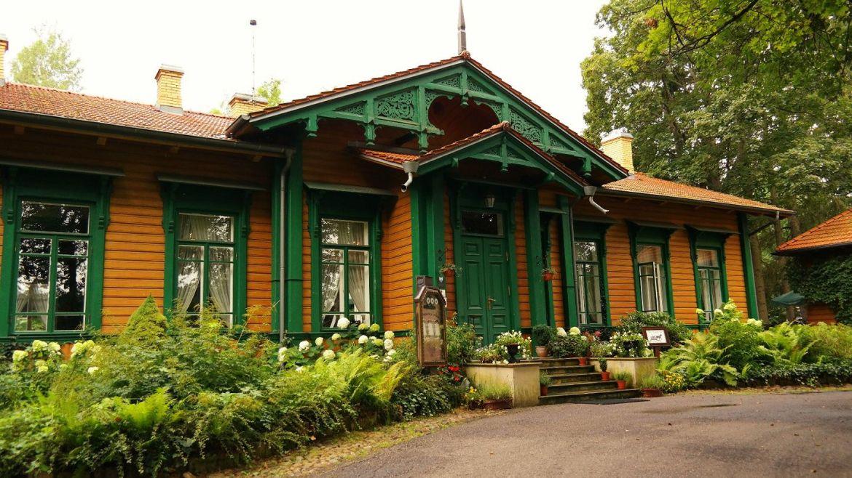Restauracja Carska Biełowieża Stacja Białowieża Towarowa