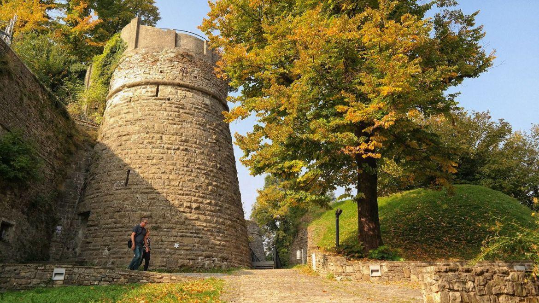 San Vigilio zamek bergamo Stare miasto co zwiedzic w Bergamo