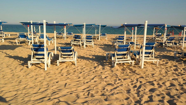 Barril Algarve Portugalia plaża