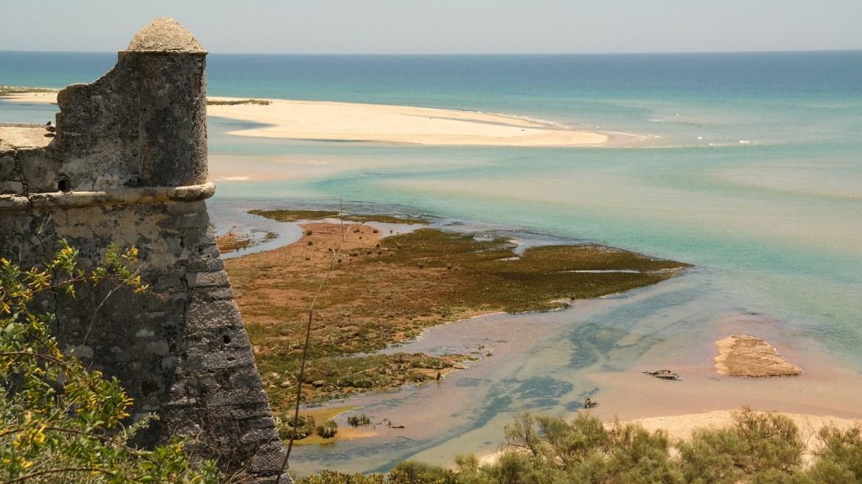Cacela-Velha-Algarve-Portugalia-panorama