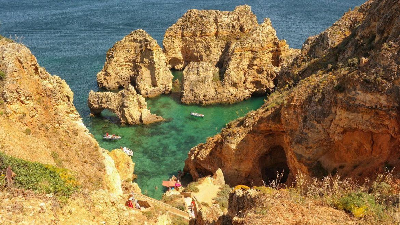 Farol da Ponta da Piedade Algarve zachodnie Portugalia 2