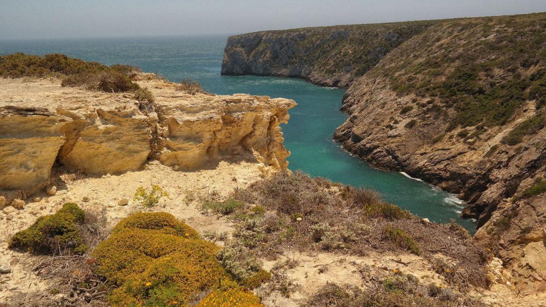 Fortaleza do Beliche zatoka Algarve zachodnie Portugalia panorama