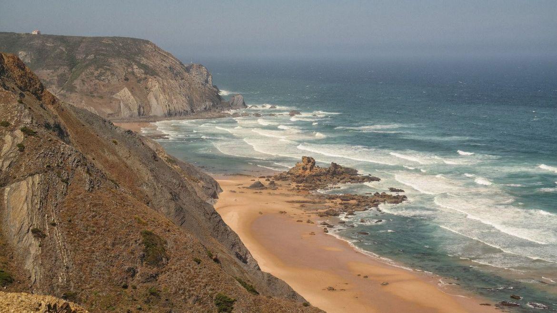 klify Castelejo Vila do Bispo Algarve zachodnie Portugalia