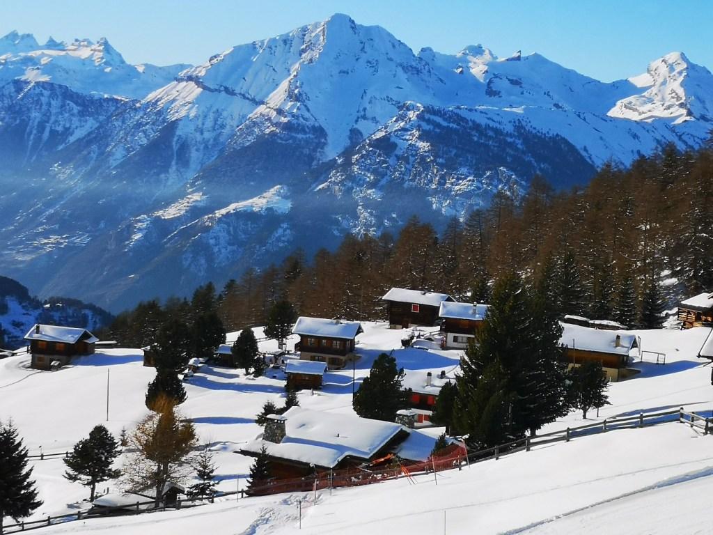 Nendaz stok zima szwajcaria narty deska 4 doliny one fun