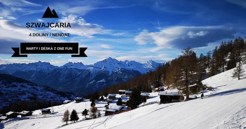 onefun narty i deska szwajcaria 4 doliny nendaz