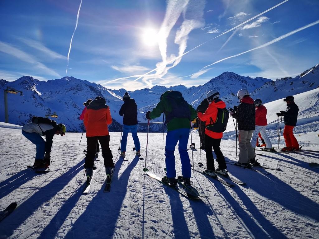 rozgrzewka narty nendaz 4 doliny szwajcaria onefun gdzie na narty narty dla singli