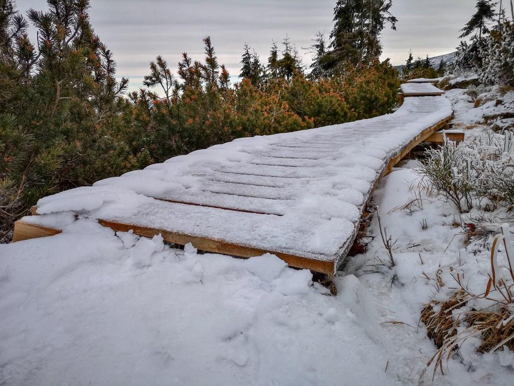trasy szlaki karkonosze zima weekend