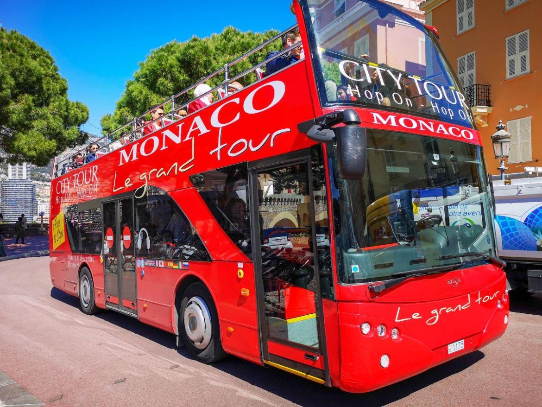 Monako co zwiedzić i zobaczyć w Monako monaco autobus hop on hop off